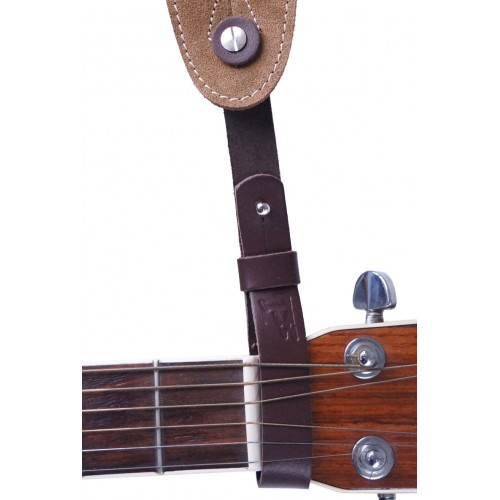 Acoustic Leather Guitar Collar