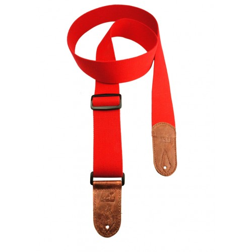 Cotton Webbing - Red