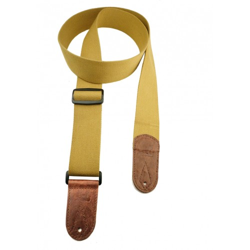 Cotton Webbing - Yellow