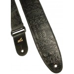Aztec Embossed - Black